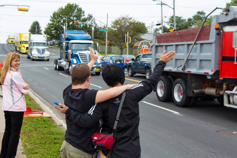 About Us: Truck Convoy for Special Olympics Nova Scotia