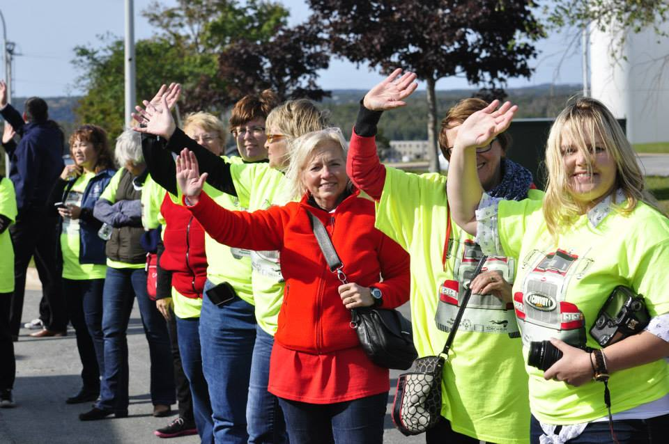 Volunteer: The Largest Truck Convoy for Special Olympics Nova Scotia