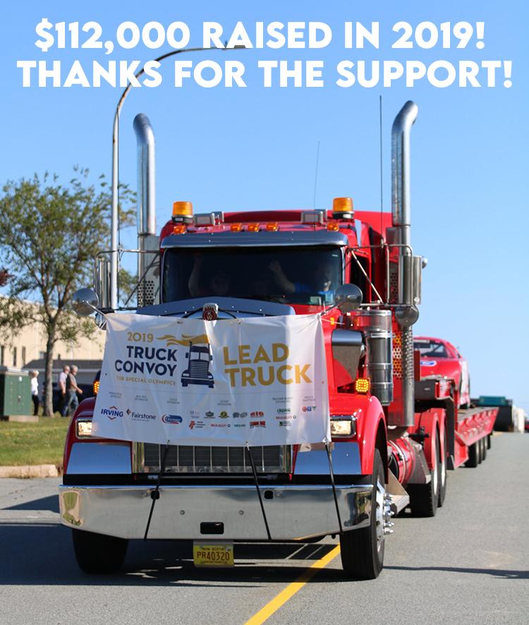 2019 Truck Convoy Lead Truck